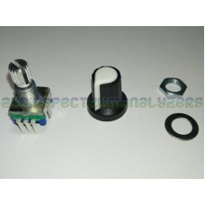 Rotary Encoder 5 pin with Knob Top Clickable Switch