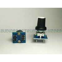 Rotary Encoder Top Clickable Switch Knob + breakout PCB