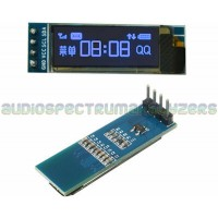 "OLED 0.91"" Blue 128X32 I2C Display Module"