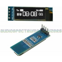 "OLED 0.91"" White 128X32 I2C Display Module"