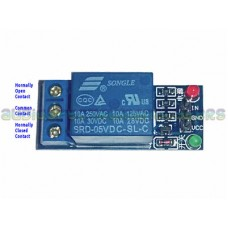 5v Relay Module 240v 10A contacts